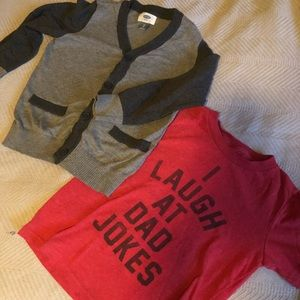 Two 4T shirts